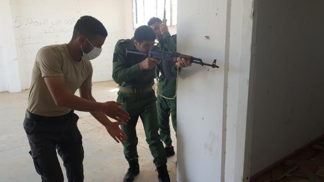 MSBden Libyalı askerlere terörle mücadele tekamül eğitimi