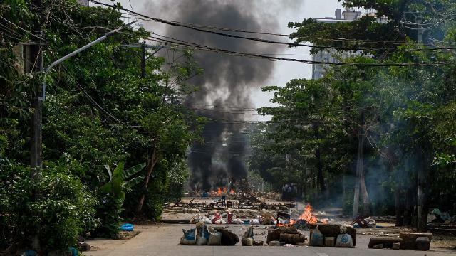 Myanmar ordusundan Karene hava saldırıları: 12 bin kişi yerinden oldu