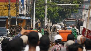 Myanmar'da protestolarda ölenlerin sayısı 880'e yükseldi