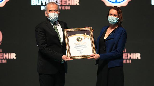 Denizli, Tek Dünya Kentleri Yarışmasında dünya ikincisi oldu