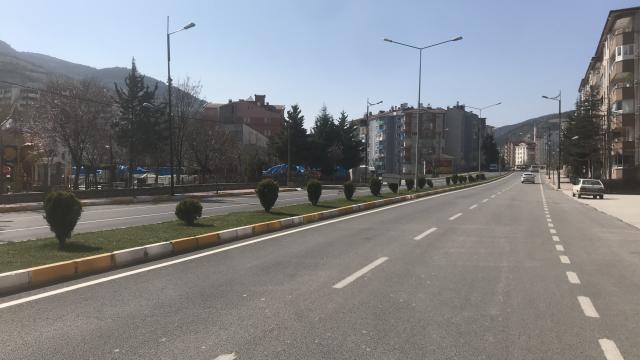 Samsun, Tokat, Kastamonu, Çorum ve Çankırıda sokağa çıkma kısıtlamasına uyuluyor