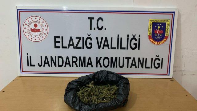 Elazığda uyuşturucu operasyonu: 1 gözaltı