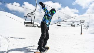 """""""Akdeniz'in kayak merkezi"""" Yedikuyular'da sezon uzadı"""