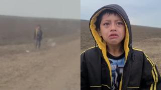 Meksika sınırında yalnız bulunan çocuğun annesi kaçakçıların elinde