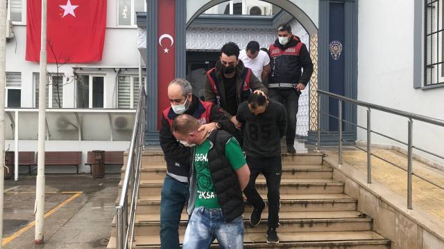 Bursada hırsızlık operasyonunda 8 şüpheli gözaltına alındı