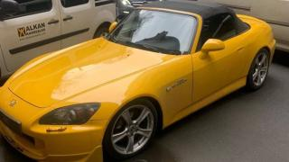 Drift yapan sürücüye 12 bin 554 lira ceza