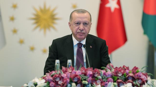 Cumhurbaşkanı Erdoğandan D-8e yerel parayla ticaret çağrısı
