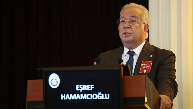 Galatasarayda Hamamcıoğlu adaylığını açıkladı