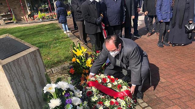 Almanyada terör kurbanı Halit Yozgat ölümünün 15. yılında anıldı