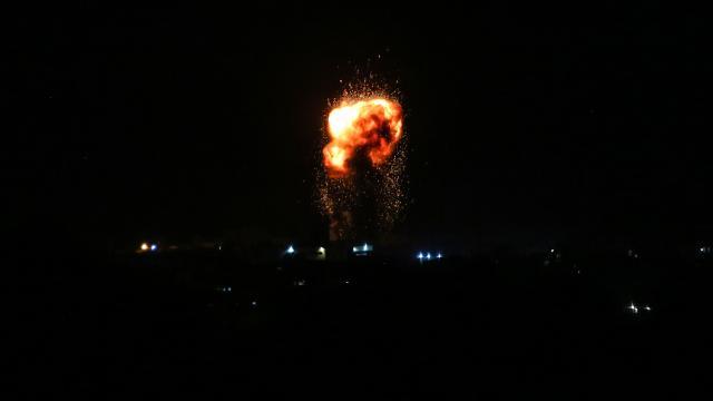 İsrailden Şama hava saldırısı