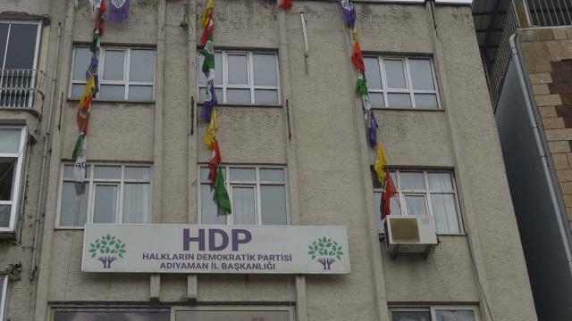 HDP il binasında terör izleri