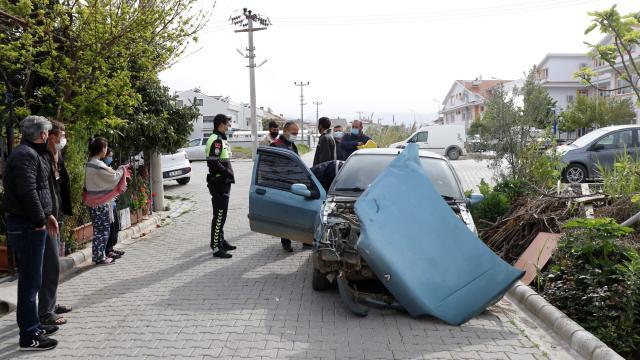 Fethiyede trafik kazası: 2 yaralı