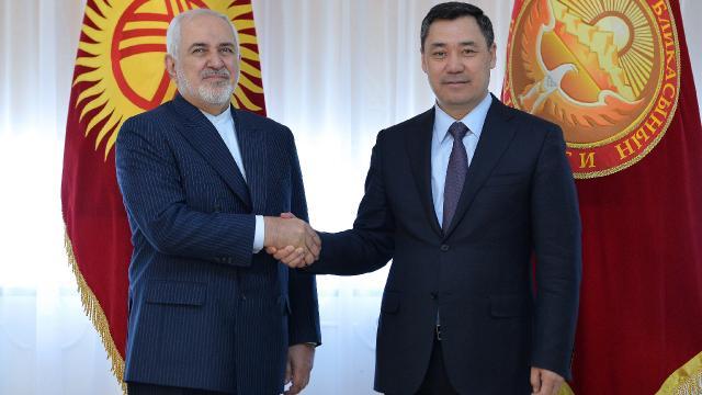 Kırgızistan ve İrandan iş birliği mesajı