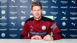 Manchester City, De Bruyne'ün sözleşmesini yenilendi