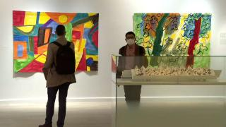 Etel Adnan'ın eserleri ilk kez İstanbul Pera Müzesi'nde sergileniyor