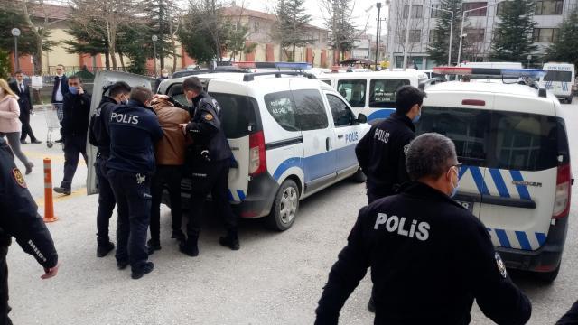 Afyonkarahisarda polise zorluk çıkaran 3 zanlı tutuklandı