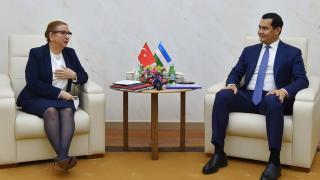 Özbekistan'la ticaret hacmini artırma görüşmeleri