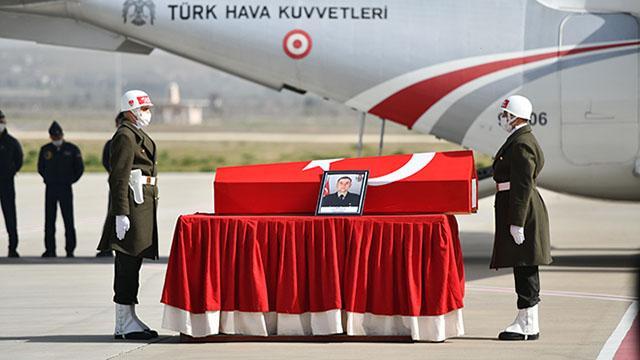 Şehit Piyade Uzman Onbaşı Çakırın cenazesi memleketine gönderildi