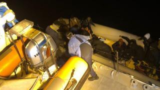 Yunanistan'ın ölüme terk ettiği 64 sığınmacı kurtarıldı