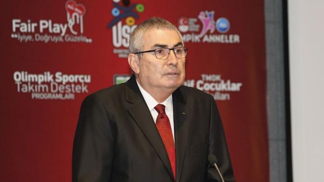 Uğur Erdener yeniden Türkiye Milli Olimpiyat Komitesi Başkanı seçildi