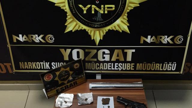 Yozgatta uyuşturucu operasyonu: 1 tutuklama