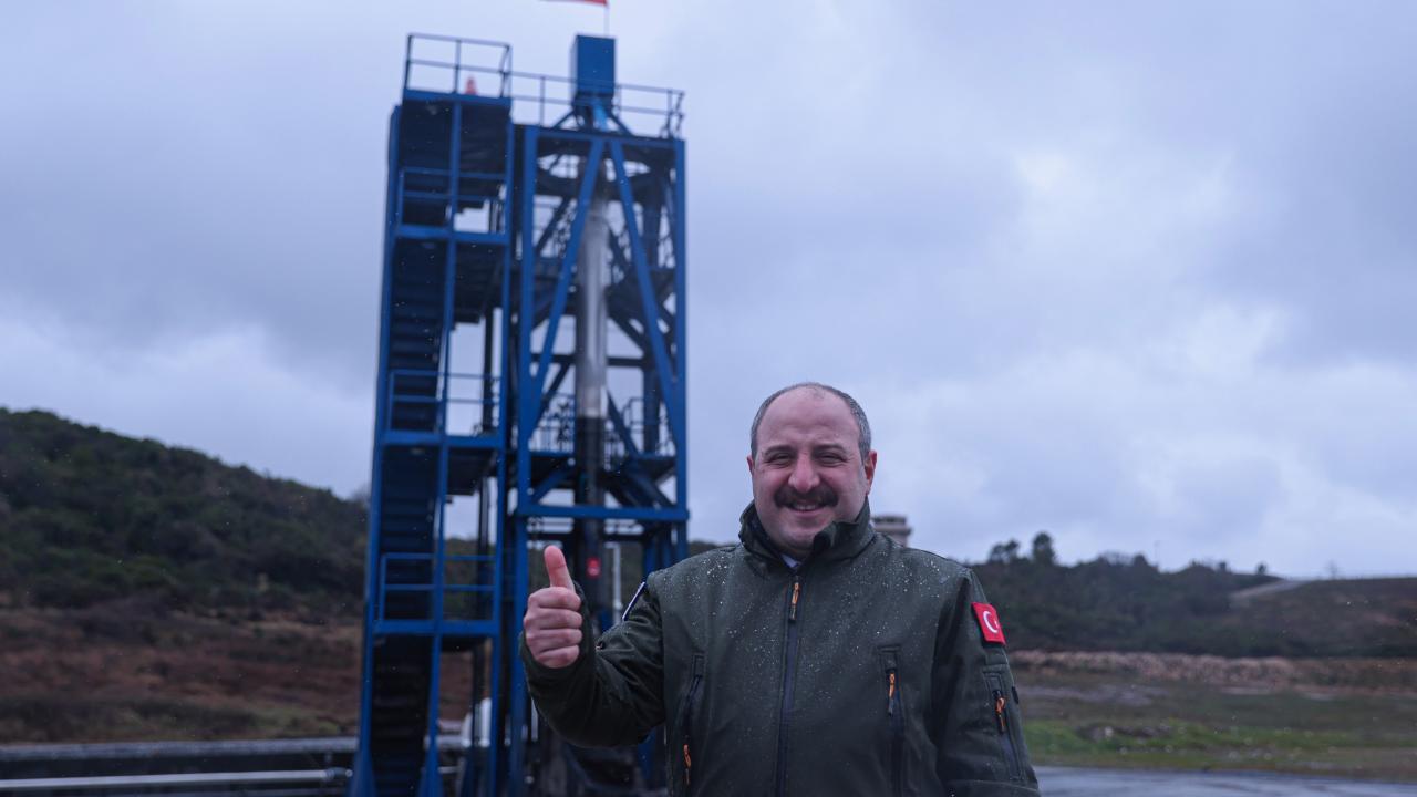 Roket motorunun bir örneği mayıs ayında fırlatılacak
