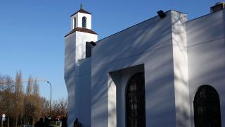 Fransa'da cami kundaklandı