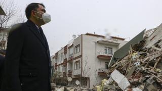 Bakan Kurum: Açelya Apartmanı ve etrafındaki apartmanlar şu an için risk altında