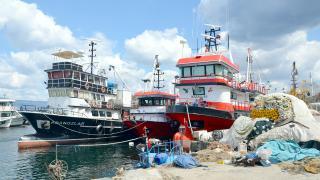 Kocaeli'de balıkçılar sezonu kapattı