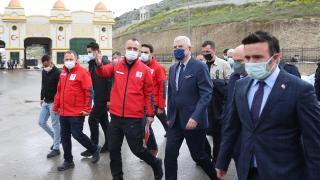BM Genel Kurul Başkanı Volkan Bozkır'ın Hatay ziyareti