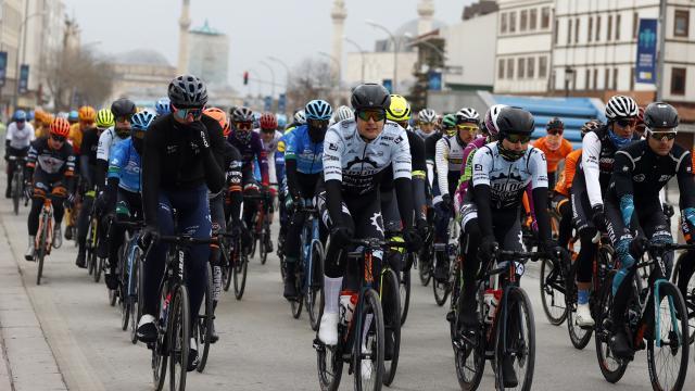 56. Cumhurbaşkanlığı Türkiye Bisiklet Turu Konyada başladı