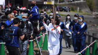 Olimpiyat meşalesini Türk vatandaşı taşıdı