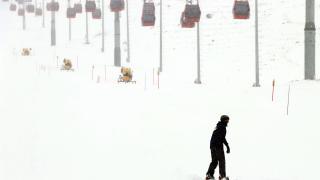 Erciyes'te kar kalınlığı 110 santimetre ölçüldü