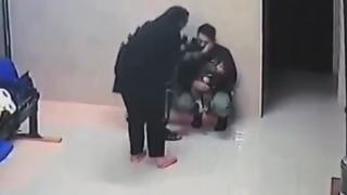 Nefes borusuna yiyecek kaçan küçük kız, doktorun müdahalesiyle kurtuldu