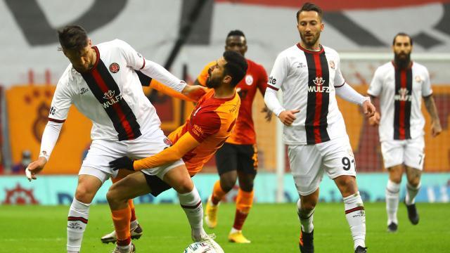 Galatasaraya bir çelme de Fatih Karagümrükten