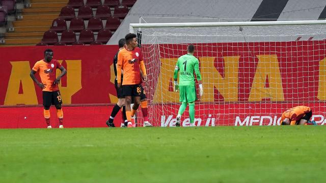 Galatasarayın galibiyet hasreti üç maça çıktı