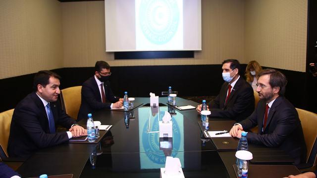 İletişim Başkanı Altun Azerbaycanda