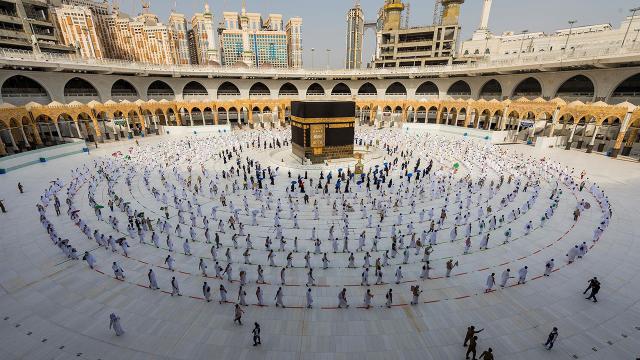 Ramazan ayının ilk on gününde Kabeyi 1,5 milyon kişi ziyaret etti