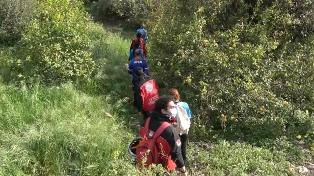 Mersinde kaybolan çiftçi drone yardımıyla bulundu