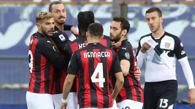 Milan deplasmanda kazandı