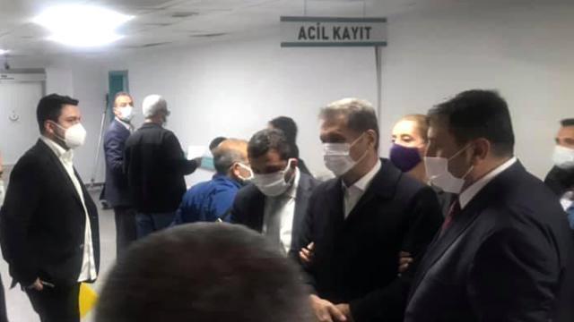 Mustafa Sarıgül gıda zehirlenmesi nedeniyle hastaneye kaldırıldı