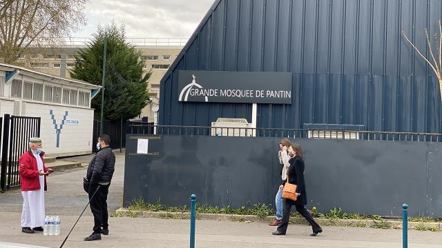 Fransada kapatılan cami yeniden cemaatine kavuştu