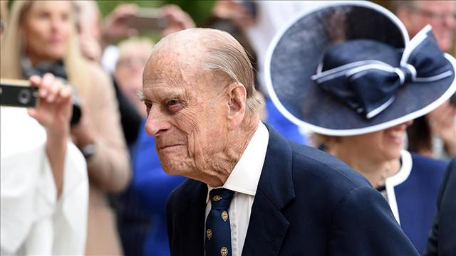 Prens Philipin cenaze töreni 17 Nisanda