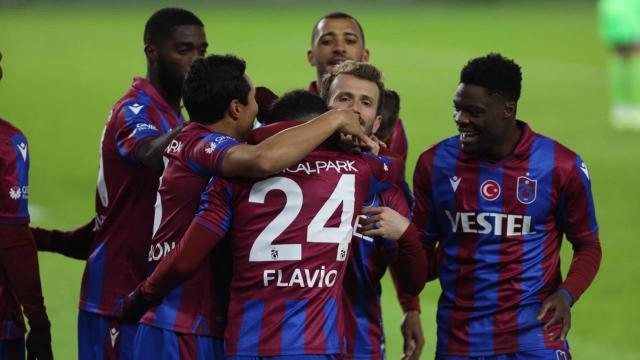 Trabzonspor deplasmanda namağlup