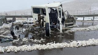 Niğde-Adana Otoyolu'nda zincirleme kaza: 5 yaralı
