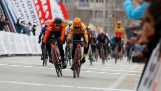 56. Cumhurbaşkanlığı Bisiklet Turu'nun ilk etabından objektiflere yansıyanlar