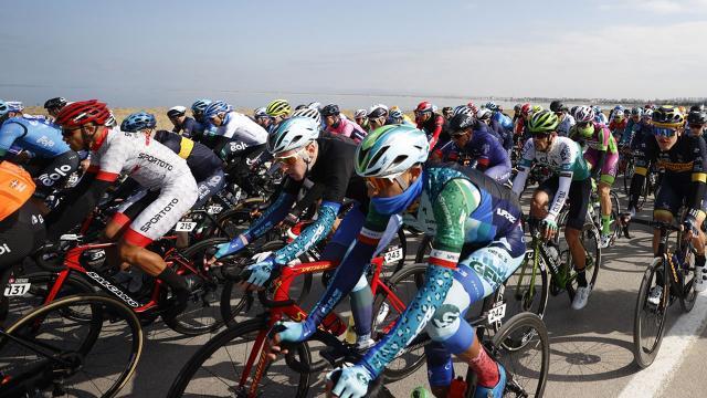 56. Cumhurbaşkanlığı Türkiye Bisiklet Turunda üçüncü etap