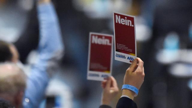 Almanyada aşırı sağcı AfD partisi, yine göçmenleri hedef aldı