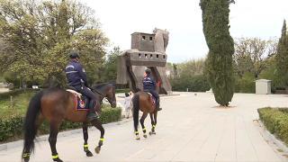 Troya Antik Kenti'nin güvenliği atlı jandarmaya emanet