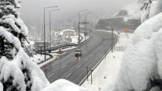 Bolu Dağı'nda kar kalınlığı 30 santimetreyi aştı
